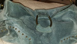 Francesco Biasia suede hobo